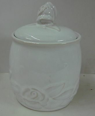 Christian Dior FRENCH COUNTRY ROSE -WHITE Sugar Bowl with Lid