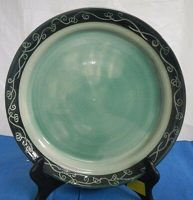 Handcrafted Pottery Plate/Planter Base, by Andrea Michelle