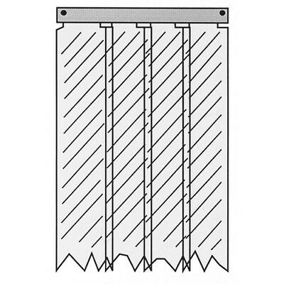 Strip Curtain 321233 32-1233