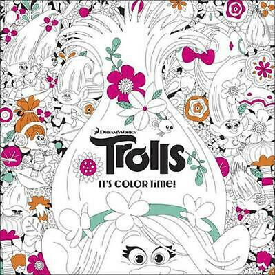 The Official Trolls Coloring Book by Random House Paperback Book (English)