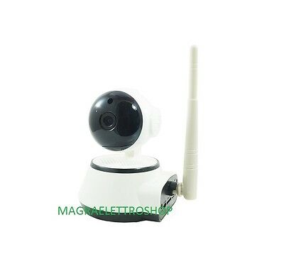Telecamera Ip Wi-Fi Onvif Motorizzata Ios Android Intelligent Camera