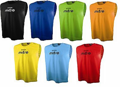 40 x Mixed Bundle Mitre Sports Training Bibs Large Football/Hockey