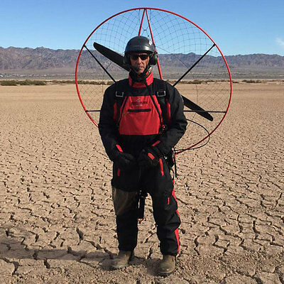 Winter Flight Suit, Lg: Miniplane Paramotor Embroidered for warm winter flying!