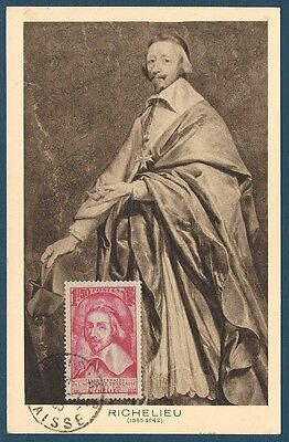 France - Carte Maximum - N°305 - Cardinal De Richelieu - Ttbe