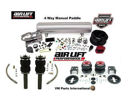 VW Golf MK5 R32 GTI TDI Air Ride Manual Management + Front & Rear Suspension Kit
