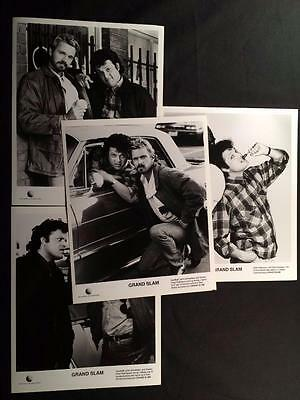 4 John Schneider GRAND SLAM Paul Rodriquez Vintage TV Still Photo Lot A18