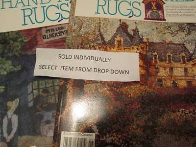 A Celebration of Hand-Hooked Rugs Magazine Your Choice #9 (IX) OR 10 (X)
