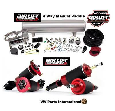 VW Golf MK1 GTI Jetta Scirocco Manual Air Ride Management + Front & Rear Kit