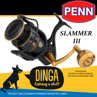 Penn Slammer III Spinning Fishing Reels New