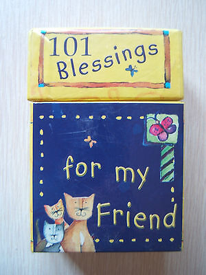 101 Blessings for my Friend Complete Christian Art Gifts Quotes & Bible verses