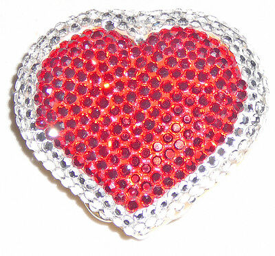 Crystal heart shaped pill box by Madeline Beth