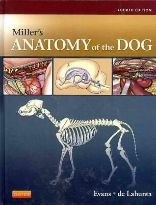 Miller's Anatomy of the Dog by Howard E. Evans Hardcover Book (English)