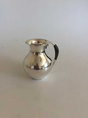 "Georg Jensen Sterling Silver Pitcher #385B. Measures 14cm / 5 1/2"" high"