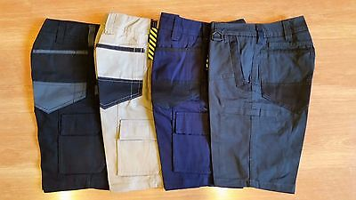 "Men's Cotton Drill Workwear Work Pants Cargo Shorts,Workshorts,Pants,Size30""-46"""