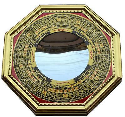 DZ1203 Feng Shui Chinese Era House Geomantic I-Ching Bagua Concave Mirror Solar