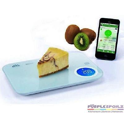NEW SENSSUN BLUETOOTH NUTRITIONAL SCALE Smart Food Scales Diet Calorie Counting