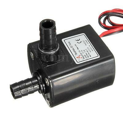 DC12V 240L/H Brushless Submersible Pompe à Eau Silence Aquarium Poisson Fontaine