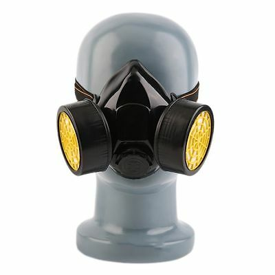 Emergency Survival Safety Respiratory Gas Mask With 2 Dual Protection Filter DS