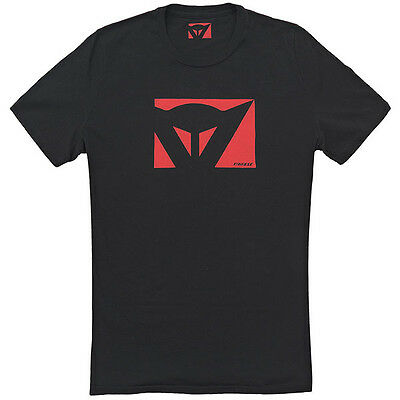 Dainese Color New Motorcycle Casual Wear T-Shirt - Black