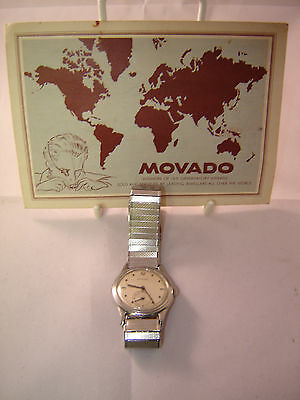 Olympic Games London 1948 Team Gb Football Movado Switzerland Engraved Watch