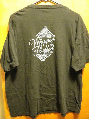 Smirnoff Whipped & Fluffed Flavored Vodkas Promo T Shirt Black XL
