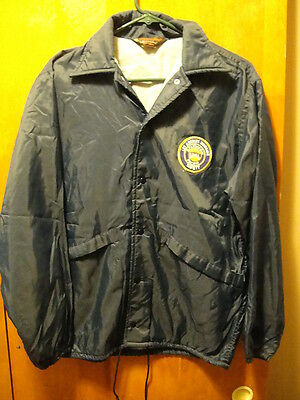 SOTHERN PACIFIC RAILROAD ~ Vintage ~ Small ~ Los Angeles Division SAFETY Jacket