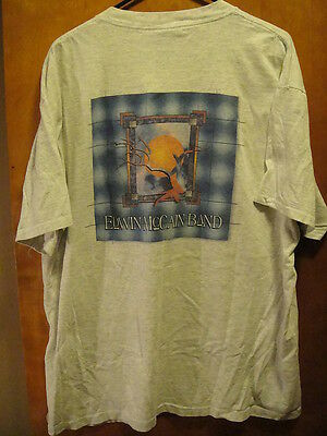Edwin McCain Band VINTAGE Concert Tour T Shirt XL Gray Made in USA