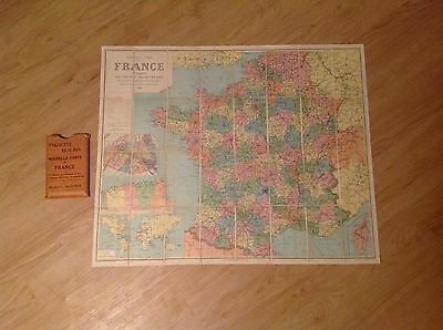 Pochette Guilmin Nouvelle Carte De France Pocket Map By: Maison L Guilmin