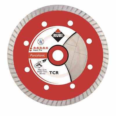 Rubi TCR 115 TCRP Diamond Blade for Angle Grinder Dry cutting Wheel 31972 TILE