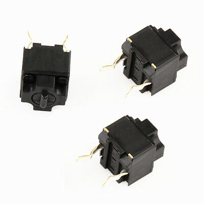 2pcs  Panasonic Square Micro Switch for Mouse Black Button NEW
