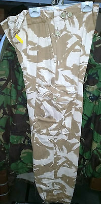 British Army Desert Dpm Trousers  -  Great Used Condition Gulf War Old Pattern