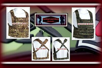 Claw Gear Load Bearing Specter Chest Rig  BW Militär Mollesystem