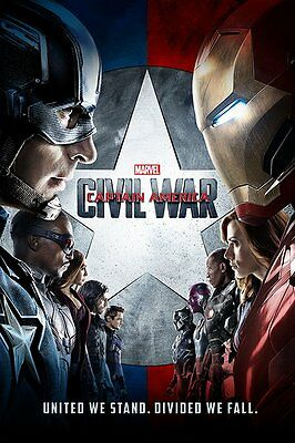 CAPTAIN AMERICA CIVIL WAR (ONE SHEET) - Maxi Poster 61cm x 91.5cm PP33914 - 667