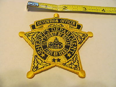Police Patch Patches Hat Detention Officer Dallas County Texas Sheriff