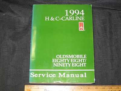 1994 Oldsmobile 88 and 98 Shop Manual