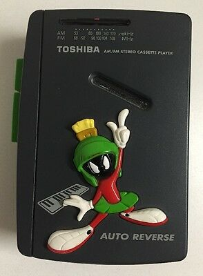 Toshiba LT 310 Looney Tunes Marvin The Martian Radio Portable Cassette Player
