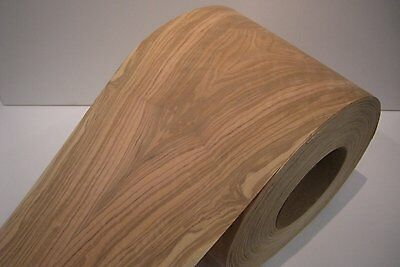 Real wood Veneer Olive with Hot melt adhesive iron-on 30 cm Wide
