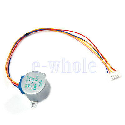 12V DC Gear Stepper Motor 4 Phase Reduction Step Motor for Arduino  WT