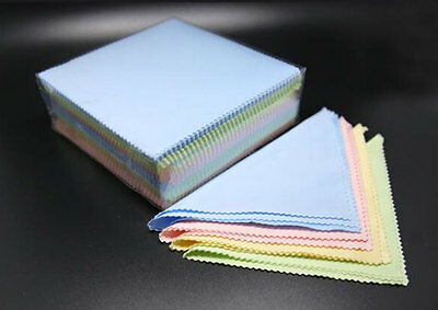 100pcs New Microfiber Cleaning Cloths For Sunglass Eyeglass Glasses