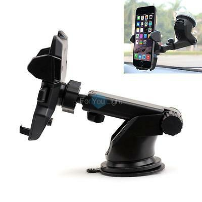 Universal Car 360° Windshield Dash Mount Holder Stand For iPhone 6 Android Phone