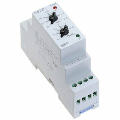 3-Phase Supply Control Protectio Protection Relay AC 350V-450V 50/60 Hz RSTB