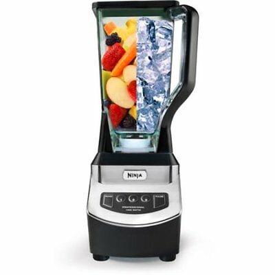 Ninja Professional Blender Smoothies Commercial High Power Mixed Grade Crusher