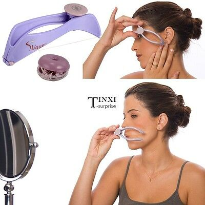 UK Plastic Beauty Tool Manually Threading Face Facial Spa Hair Remover TXSU