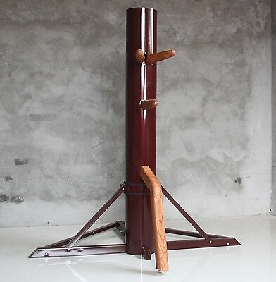 Tripod  Wooden Dummy Sale Mook Yang Jong made of Iron Body With Iron Base