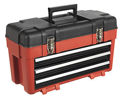 AP1003 Sealey Toolbox 585mm 3 Drawer Portable [Tool Storage]