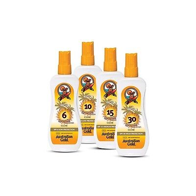 Australian Gold Spray Gel Sunscreen SPF30 High Protection