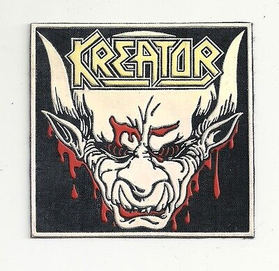 KREATOR synthetic rubber patch RARE!!!