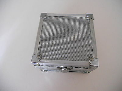 SILVER ALLUMINIUM GAMEBOY CASE for Game Boy ADVANCE SP GBA SP