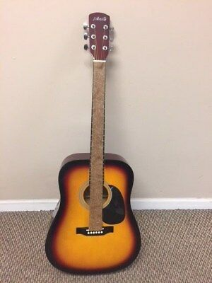 NEW Asheville Adult acoustic Guitar Natural Finish FREE SHIP