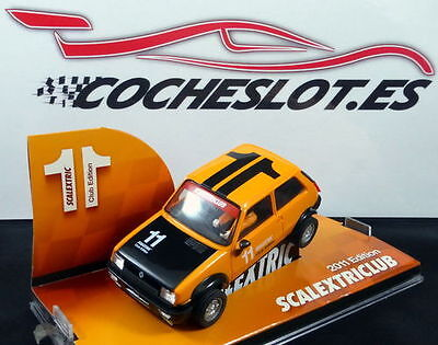 Renault 5 Club Scalextric 2011 Ref.6481 Tecnitoys